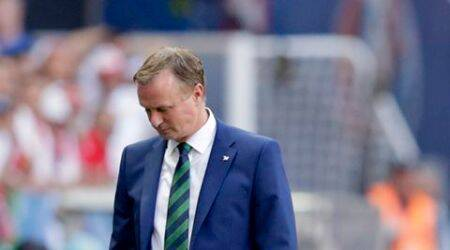 Euro 2016: Northern Ireland coach Michael O'Neill pays tribute after fan dies