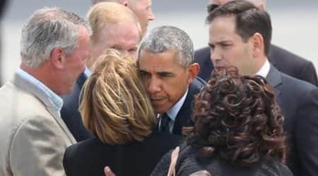 Barack Obama, Obama meets Orlando survivors, Orlando Mass shooting, Orlando gay Club Shooting, US President, Orlando Survivors, Orlando Massacre victims, Latest News, World News