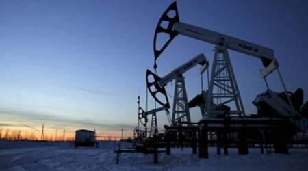 Oil prices fall with world markets, stockpiles data eyed