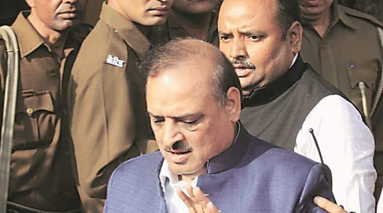 BJP MLA O P Sharma, O P Sharma, Delhi HC, delhi high court, op sharma suspension, indian express news, india news, latest news, delhi news