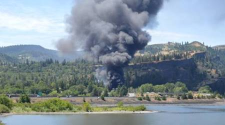 Oregon train derailment: Track failure likely caused accident; essential water servicesdamaged