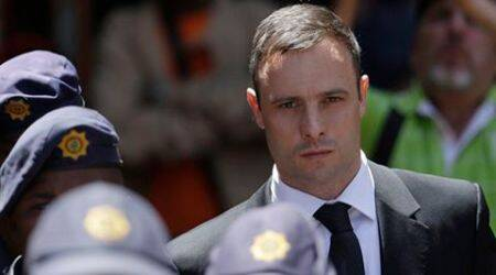 'Broken' Oscar Pistorius in court for murder sentencing