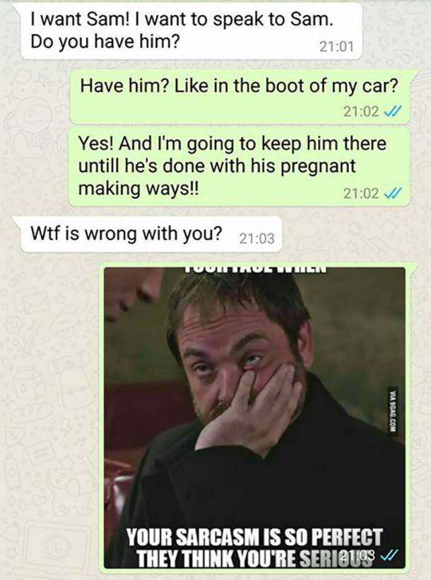 Woman breaks pregnancy news to a wrong person on WhatsApp; here's what happened next