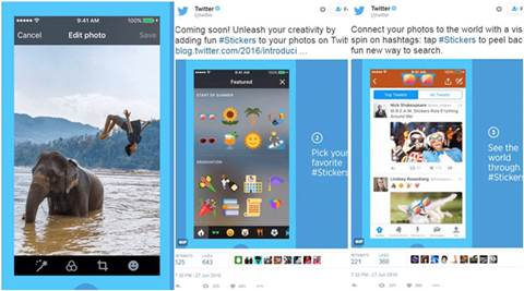 Twitter, Twitter Stickers, Stickers twitter, Stickers feature, Twitter photos, Twitter accessories, Twitter emojis, social, tech news
