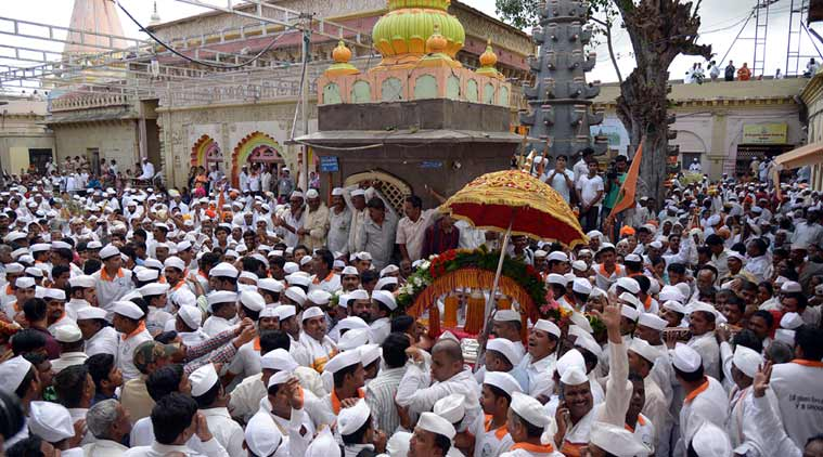palkhi procession, pune palkhi procession, pune monsoon, pune sowing season, sant dnyaneshwar procession, Sant Tukaram palkhi, pune water crisis, pune water problem, pune district collector, indian express news, city news, pune, pune news,