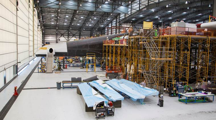 space, paul allen, microsoft paul allen, world's biggest plane, Vulcan Aerospace, Stratolaunch Systems, rocket, SpaceX Falcon, space news, science news, tech news, technology