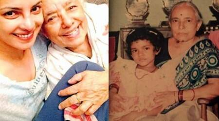 Priyanka Chopra, Madhu Jyotsna Akhouri dies, RIP Madhu Jyotsna Akhouri, freedom fighter Madhu Jyotsna death, Priyanka Chopra grandmother dies, piggy chops latest news, entertainment news