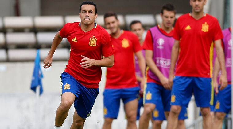 Spain vs Croatia, ESP vs CRO, Croatia vs Spain, CRO vs ESP, Pedro Rodriguez, Rodriguez,Pedro, Pedro Rodriguez Spain, Spain Pedro , Euro 2016, Euro 2016 standings, Euro 2016 Spain, Gerard Pique, Pique, Vicente Del Bosque, coach Vicente Del Bosque, Football
