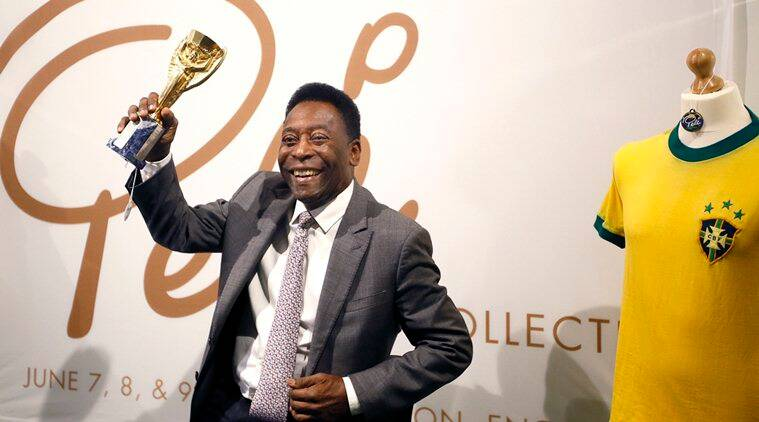 Pele, Pele auction, Pele football, Pele Brazil, Brazil football, Jules Rimet Trophy,sports news, sports, football news, Football