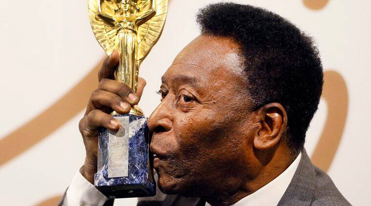 Pele, Pele Brazil, Brazil Pele, Pele auction, auction news, World cup trophy, World cup trophy replica, Jules Rimet trophy, sports news, sports, football news, Football
