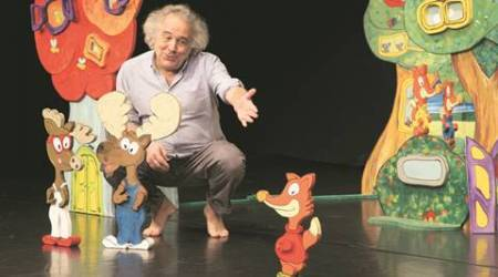 play, children play, roberto frabetti, early years theatre, mumbai play, mumbai theatre, bologna, Prithvi Theatre mumbai, National Centre Performing Arts, mumbai, indian express talk