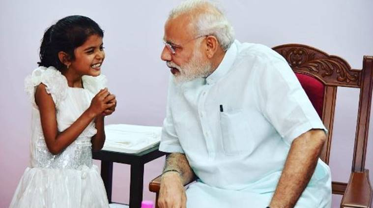 Image result for narendra modi with kids