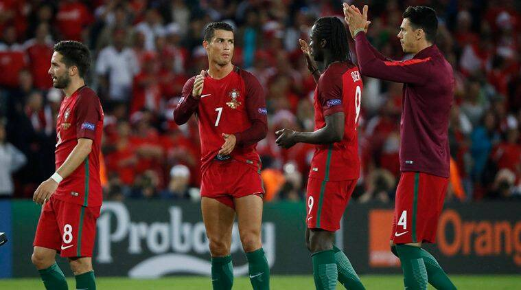 Portugal play on Wednesday's Group F match against Hungary in third place. (Source: Reuters)