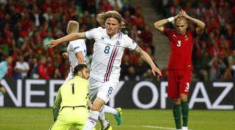 Portugal 1-1 Iceland, Euro 2016: As it happened  in St Etienne