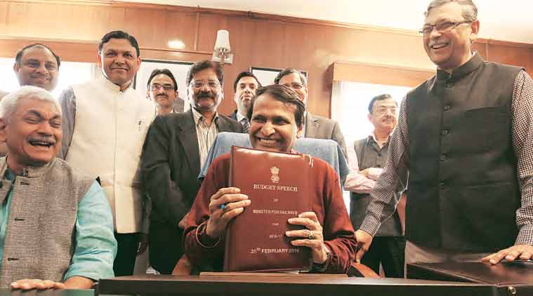 rail budget, indian railways, NITI aayog, niti aayog note, narendra modi, pm modi, suresh prabhu, indian express editorial