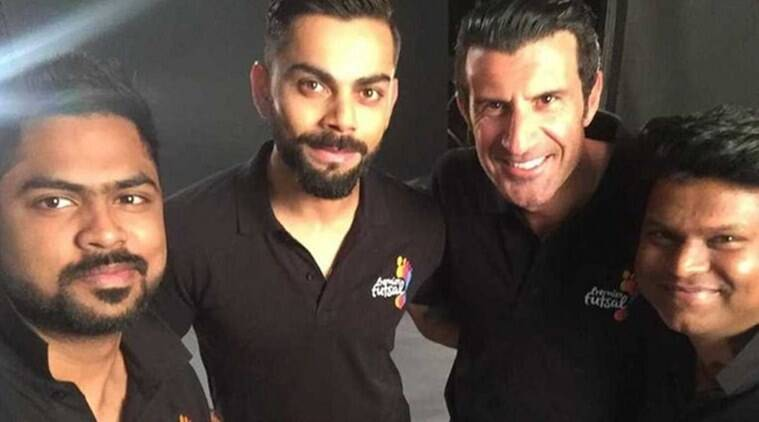 Virat Kohli is the brand ambassador of Premier- Futsal-League (source: Premier Futsal League)