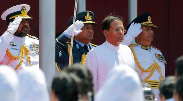 sri lanka, sri lanka new constitution, sirisena, sirisena new constitution, Maithripala sirisena, sri lanka president, world news, indian express
