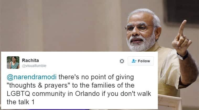 Rachita, a human rights activist, calls out on Narendra Modi on Twitter/ File photo