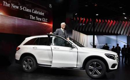Mercedes Benz launches new luxury compact SUVGLC