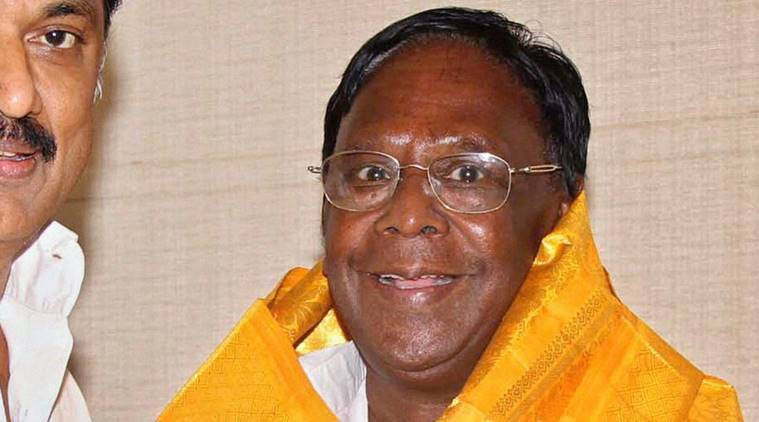V Narayanasamy CM, Congress Puducherry, Chief Minister Narayanasamy, Puducherry CM, Puducherry government, assembly elections 2016, puducherry assembly elections 2016, national news, India news, Puducherry news