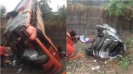 Pune-Mumbai Expressway accident: 'It was dark, parking lights of stationary car were notfunctioning'