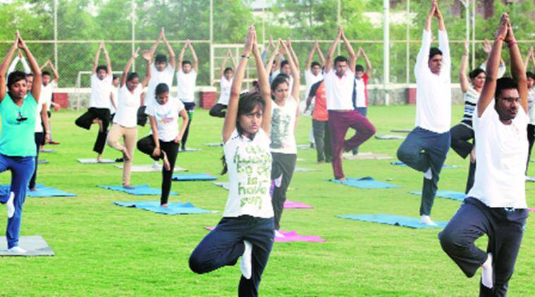 Chandigarh, Yoga, Yoga Day, Chandigarh Yoga day, international yoga day, PM Narendra Modi, Kaptan Singh Solanki, school yoga Chandigarh, PM Modi, Modi, Narendra Modi, Modi yoga day, Yoga benefits, latest news, india news, chandigarh news, India news, national news