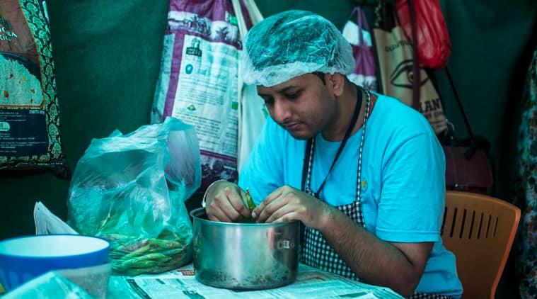 Raees Shaikh at Arpan. (Photo: Anurag Banerjee)