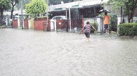 rain, chandigarh, rainfall in chandigarh, heavy rain in chandigarh, chandigarh tricity, waterlogging in chandigarh, monsoon in chandigarh, chandigarh rain, chandigarh monsoon, chandigarh news, india news