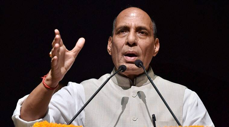rajnath singh, pampore, pampore attack