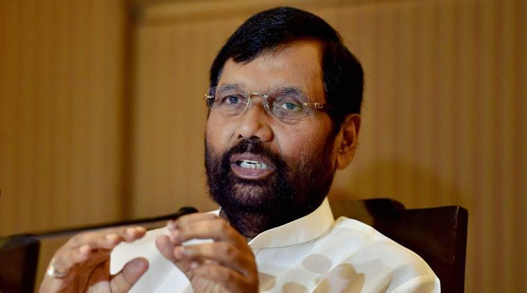 Ram Vilas Paswan, Consumer affairs minister, Union minister, BJP, black money, corruption in India, india corruption, hidden black money, india news, latest news, BJP news