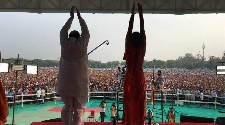 Yoga Day, Yoga, Modi, Narendra Modi, Modi Yoga, Yoga Day celebrations, Yoga Day Delhi, Yoga Dai Rajasthan, Yoga Day Haryana, Yoga Day Chandigarh, Yoga Day Chhattisgarh, Yoga Day photos, Yoga Day videos