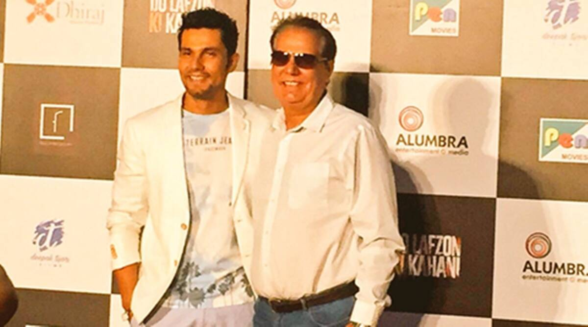 Randeep Hooda's father is 'proud'   Entertainment News,The Indian ...