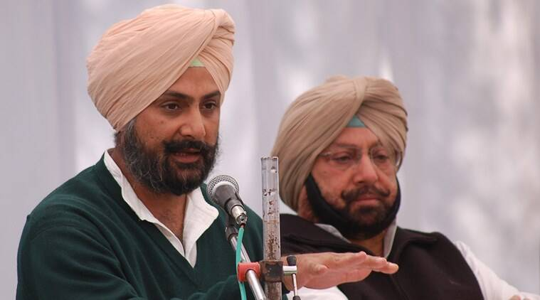 Image result for captain amrinder singh's son
