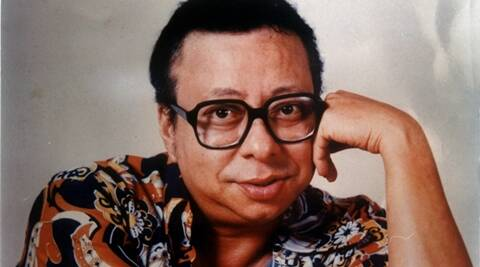 Music Director RD Burman. Express archive photo