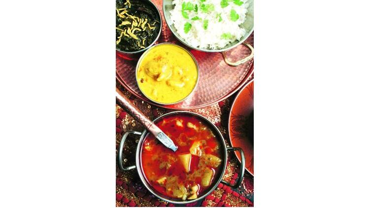 Feasts and Fasts: The History of Food in India, Colleen Taylor Sen, Speaking Tiger, book review, indian express book review