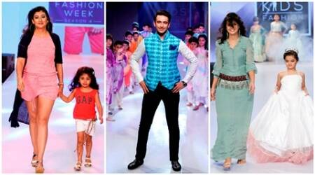 TV stars the ramp at kids fashion gala