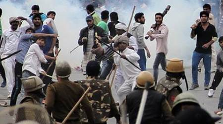 Jat quota stir: Haryana Police to use less lethal weapons to curb violentprotests