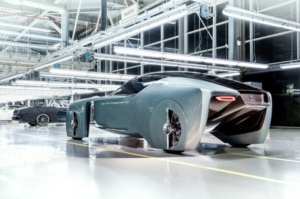rolls royce 103EX, rolls royce vision vehicle, rolls royce vision next 100, rolls royce first driverless vehicle, tech news, auto news