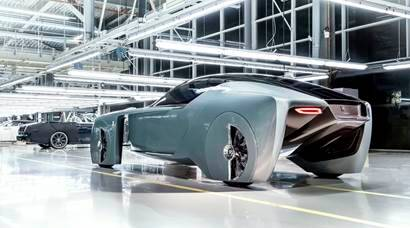Rolls-Royce driver-less vehicle 103EX: What future luxury looks like
