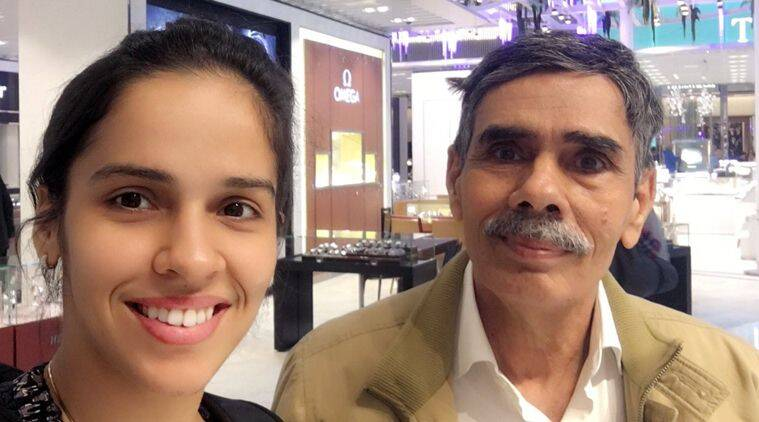 Father's day, Father's day tweets, Father's day sportsmen, Father's day quotes, Father's day messages, Saina Nehwal, Harbhajan Singh, Virender Sehwag, sports news, sports
