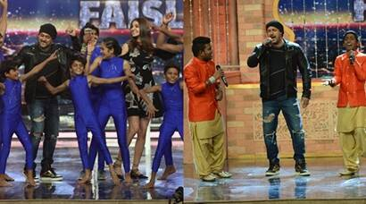 Salman Khan, Anushka Sharma dance and sing with India's Got Talent contestants, see pics