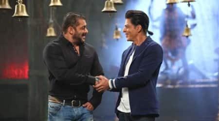 Shah Rukh Khan, Salman khan, Bigg Boss 9, Shah Rukh Khan news, Salman khan news, Salman, SRk, Entertainment news, Bigg Boss 9 episode, Bigg Boss 9 complaint, Bigg Boss 9 temple episode, Bigg Boss 9 Salman Khan, Bigg Boss 9 Shah Rukh Khan, Salman Khan Shah Rukh Khan, Salman SRk, Salman Bigg Boss 9, SRK bigg boss 9