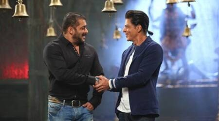 Shah Rukh Khan, Salman khan, Bigg Boss 9, Shah Rukh Khan news, Salman khan news, Salman, SRk, Entertainment news, Bigg Boss 9 episode, Bigg Boss 9 complaint, Bigg Boss 9 temple episode, Bigg Boss 9 Salman Khan, Bigg Boss 9 Shah Rukh Khan, Salman Khan Shah Rukh Khan, Salman SRk, Salman Bigg Boss 9, SRK bigg boss 9