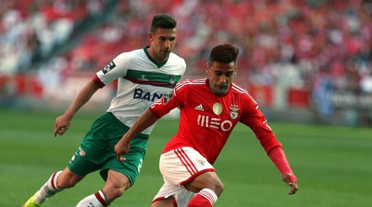Benfica won the Primeira Liga title for the third straight year. (Source: AP)