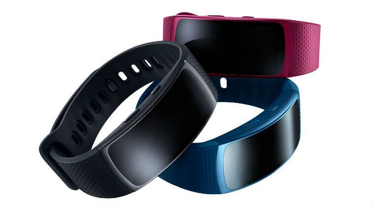 Samsung Gear Fit 2 has a larger 1.5-inch display with built-in GPS (Source: Samsung)