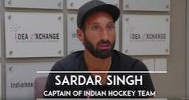 Idea Exchange With Sardar Singh, Captain Of The India Hockey Team