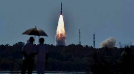 pslv launch, pslv rocket launch, pslv satellite launch, ISRO, scatsat launch, isro satellite launch, india news, indian express news