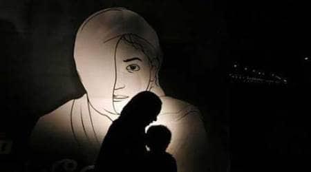 Dalit, Dali woman harassed, village head harassment case, Dalit woman, Dalit woman ill-treated, Muzaffarnagar, Dalit anganwadi worker harassed, Indian express news