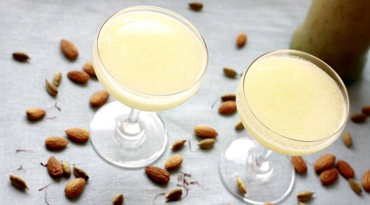 The almond cooler or badam sharbat is also considered to be a great remedy for nose bleeds in summer. (Source: Kitchen Fables)
