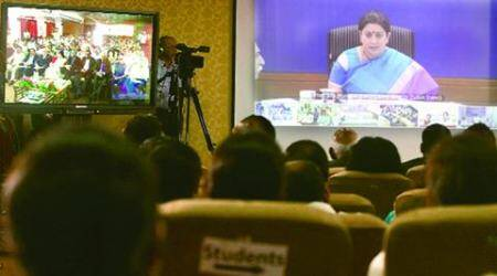 Smriti Irani announces national competition to promote research among students